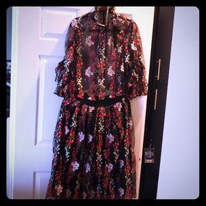 Dresses & Skirts - Chiffon Skirt set